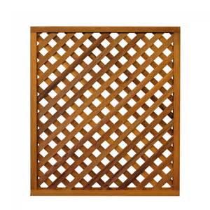 Cedar delite diagonal lattice 3x4 feet framed panel outdoor living