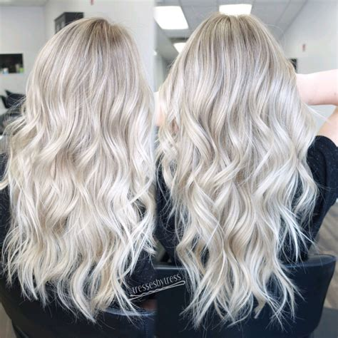 beautiful brunette hair with platinum highlights pictures hot trebd 2015 platinum white blonde balayage http scorpioscowl tumblr