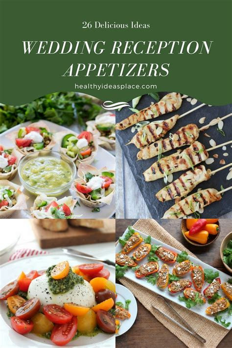 Appetizers For Wedding Reception Recipes by 26 Wedding Reception Appetizers Healthy Ideas Place