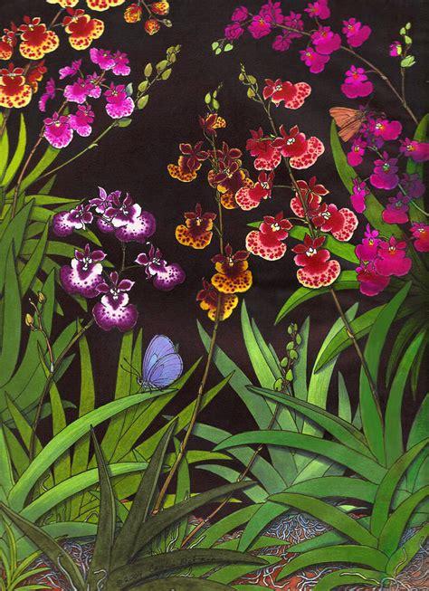 Oncidium Equitant study of equitant oncidium orchids by carolyn mcfann