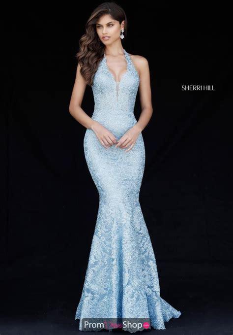 sherri hill light blue dress sherri hill dress 51616 promdressshop com
