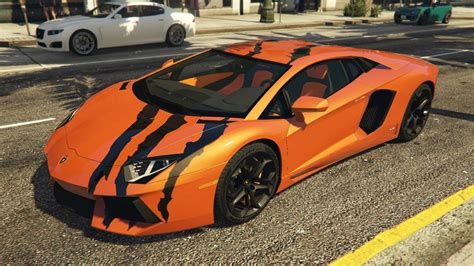 Where Is The Lamborghini In Gta 5 2012 Lamborghini Aventador Lp700 4 Quot Tiger Claws Quot Paintjob