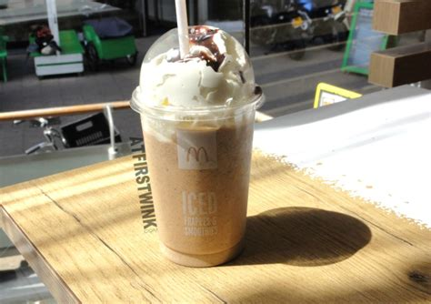 Iced Coffee Mcd mcdonalds summer specials iced frapp 233 chocolate chip