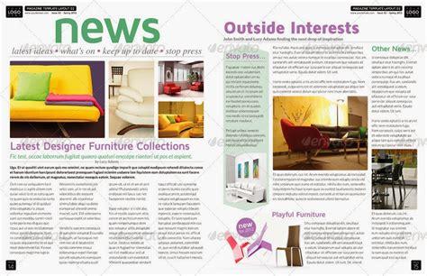 layout majalah simple creedivity desain layout contoh