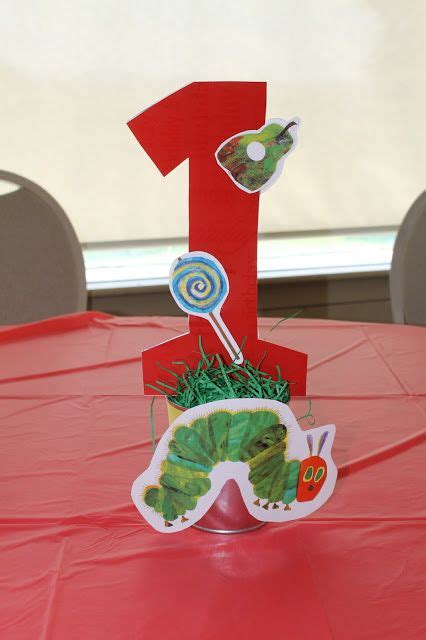 the hungry caterpillar centerpieces photo 1 of 37 the hungry caterpillar birthday