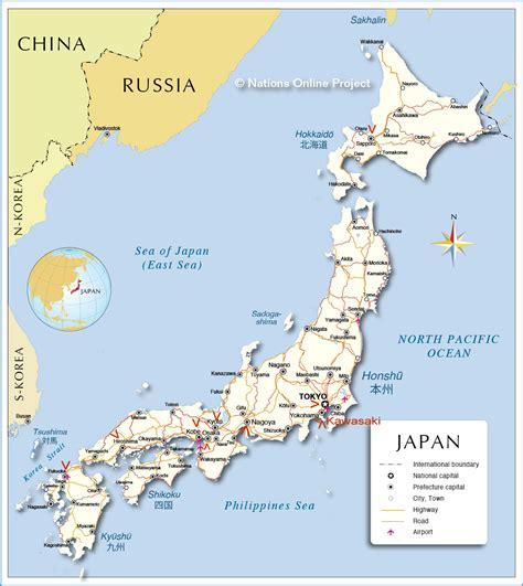 map japan j a p a n