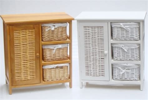 Wicker Bathroom Furniture Storage Detail Of Kitchen Rattan Bathroom Storage