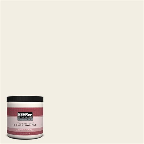 behr premium plus ultra 8 oz 760c 1 toasted marshmallow interior exterior paint sle 760c 1u