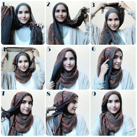 tutorial hijab pashmina tanpa jarum dan peniti 8 tutorial hijab yang bisa kamu coba tanpa menggunakan