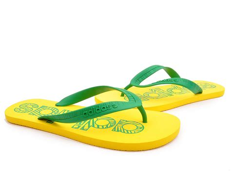 Sandal Fipper Black Series Size 10 adidas flipper yellow green flat flip flop mens boys