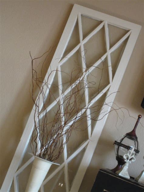 thrifty decorating turn an old window into a pot rack 30 diy craft projects using old vintage windows page 2