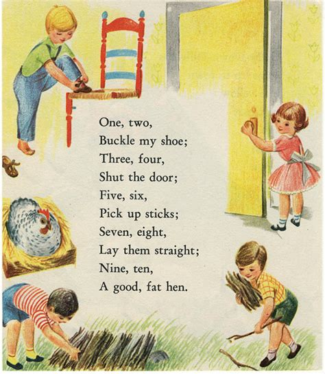 One Two Buckle Shoe Three Four Shut The Door one two buckle shoe rhyme song lyrics and