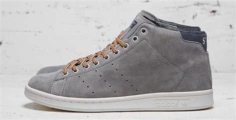 Sepatu Sneakers Adidas Stan Smith adidas originals x mcnairy 84 lab stan smith mid grey suede s style
