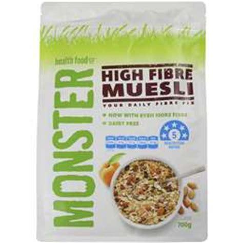 Moster Muesli Multigrain Porridge 700g muesli oats woolworths