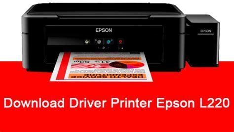 Printer Epson L220 Series driver printer epson l220 series terbaru support all