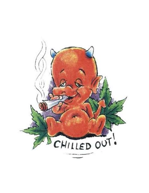 smoking weed tattoo designs baby baby h