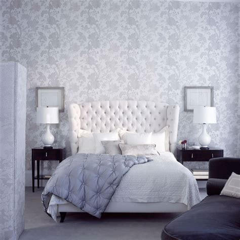 Grey Vintage Bedroom Wallpaper Bedroom Wallpaper Ideas Ideal Home