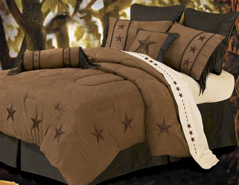 texas comforter set laredo tan 7 piece texas comforter bedding squeen
