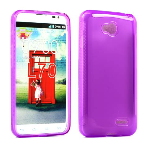Soft Silikon Ume Lg L70 wholesale lg optimus l70 exceed 2 tpu gel purple