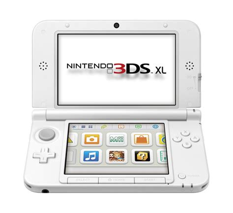 nintendo 3ds xl console nintendo 3ds xl console white the gamesmen