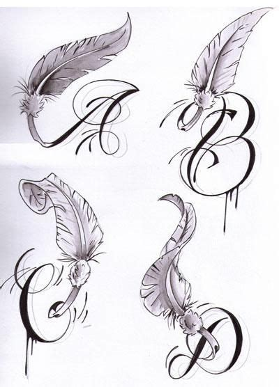 the letter d tattoo designs quot s quot letter initial letters with wings tattoos