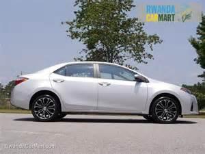 2014 Toyota Corolla Sport Used Rwanda Carmart