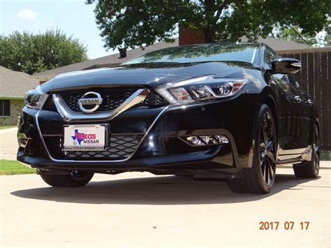 midnight nissan maxima 2017 nissan maxima midnight edition maxima forums