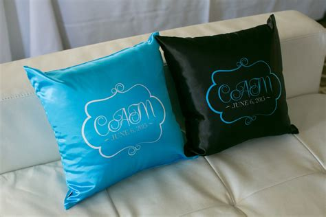 Pillow Custom by Custom Logo Pillows Balloon Artistry