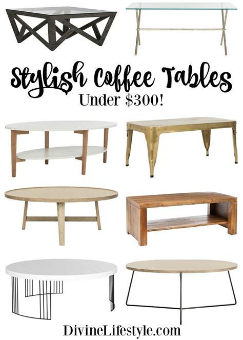 stylish coffee table stylish coffee tables 300 home decor design