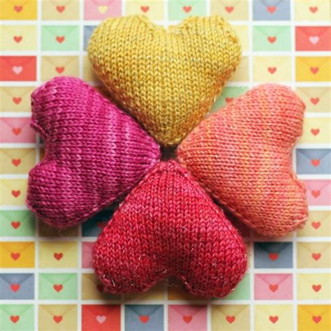 heart pattern by nao touyama knit a little heart knitting