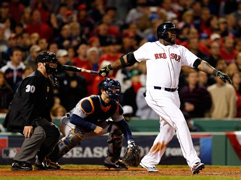 dramatic home run by david ortiz may saved the