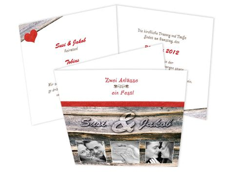 spezielle einladungskarten hochzeit spezielle einladungskarten f 252 r eine hochzeit mit taufe