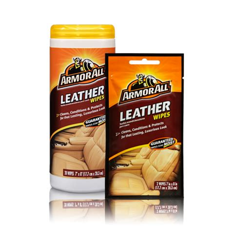 Leather Wipes by Leather Wipes Car Leather Cleaner Armor All