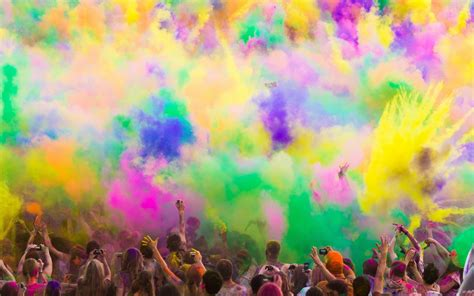 color of happy the holi festival of colors 2012 full hd wallpaper and