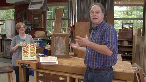 woodworking tv shows scrolled tree of american woodshop