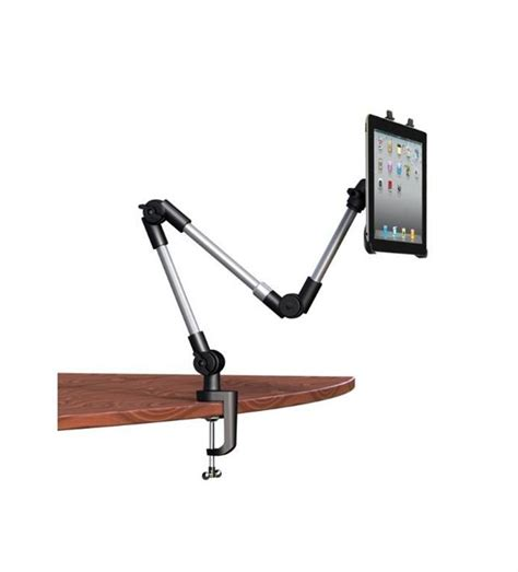 computer swing arm table universal adjustable swing arm tablet holder table or car