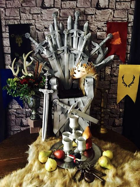 Of Thrones Decorations by Of Thrones Birthday Ideas Photo 1 Of 33