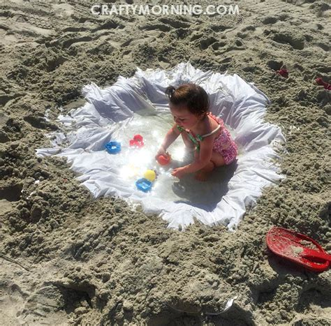kids beach shower curtain shower curtain beach hack for kids crafty morning