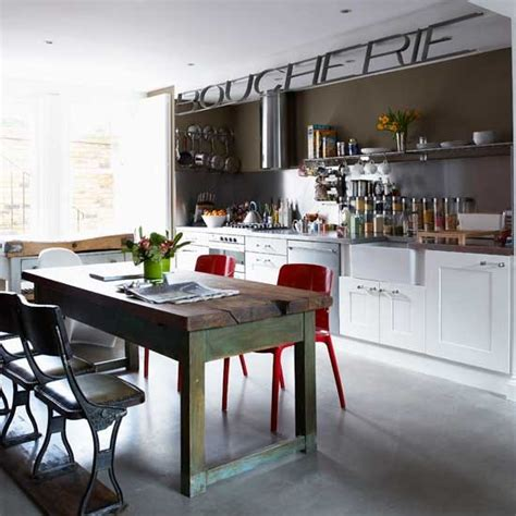 eclectic kitchen kitchen ideas worktops housetohome
