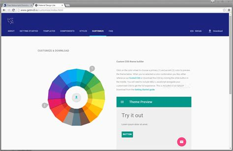 google design material framework google releases the quot material design lite quot frontend ui