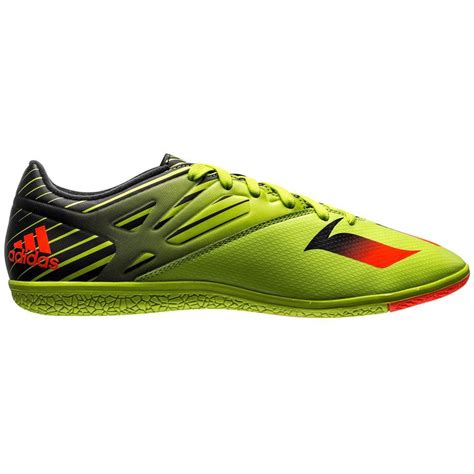 Messi 15 3 Indoor Adidas adidas messi 15 3 mens indoor soccer shoes slime solar