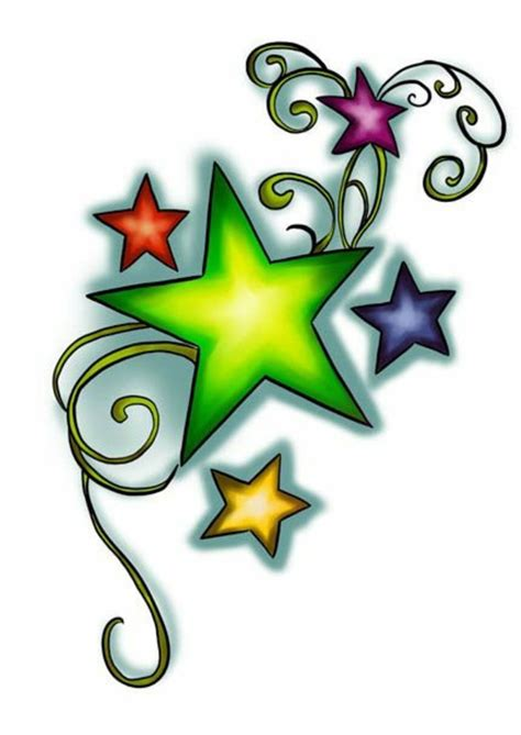 color star tattoo designs meaning and cool designs in pictures