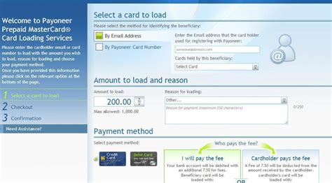 Make Loads Of Money Online - how to load money to payoneer card for paypal verification