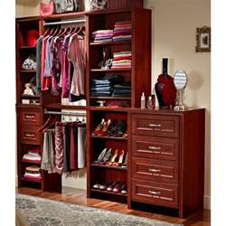 closetmaid impressions 2 quot cherry wide deluxe drawer