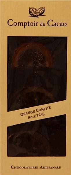 ciocolata neagra cu portocala confiata comptoir du cacao