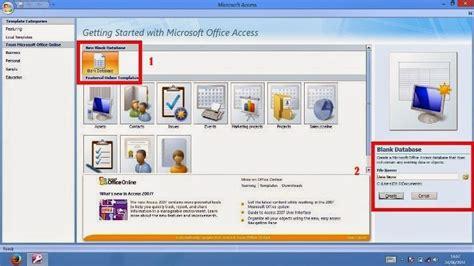 microsoft access 2016 untuk pemula belajar ms access untuk pemula belajar