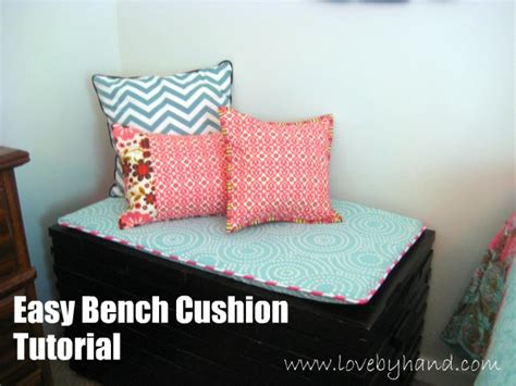 how to make a bench seat cushion craftaholics anonymous 174 how to make a bench cushion
