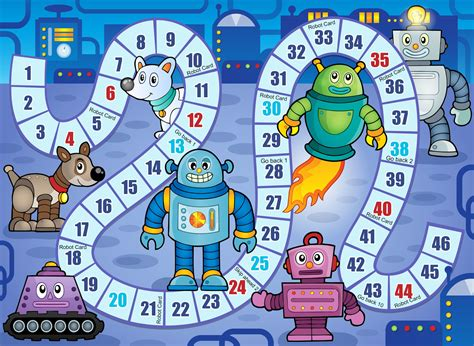 free printable winter board games diy birthday blog free robot birthday party printables
