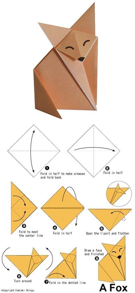 easy origami tutorials    follow kids animais de origami origami como fazer