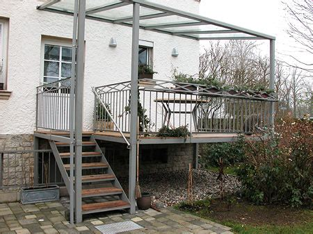 terrasse stahl metallbau hacker in bayreuth stahlbau und leichtmetallbau